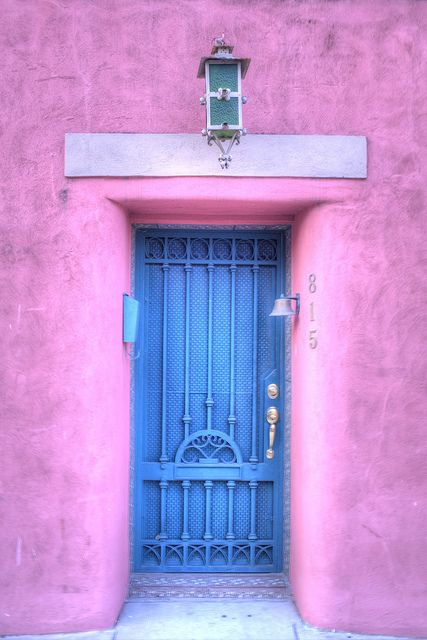 Laredo Beautiful Doors Blue Door Doors