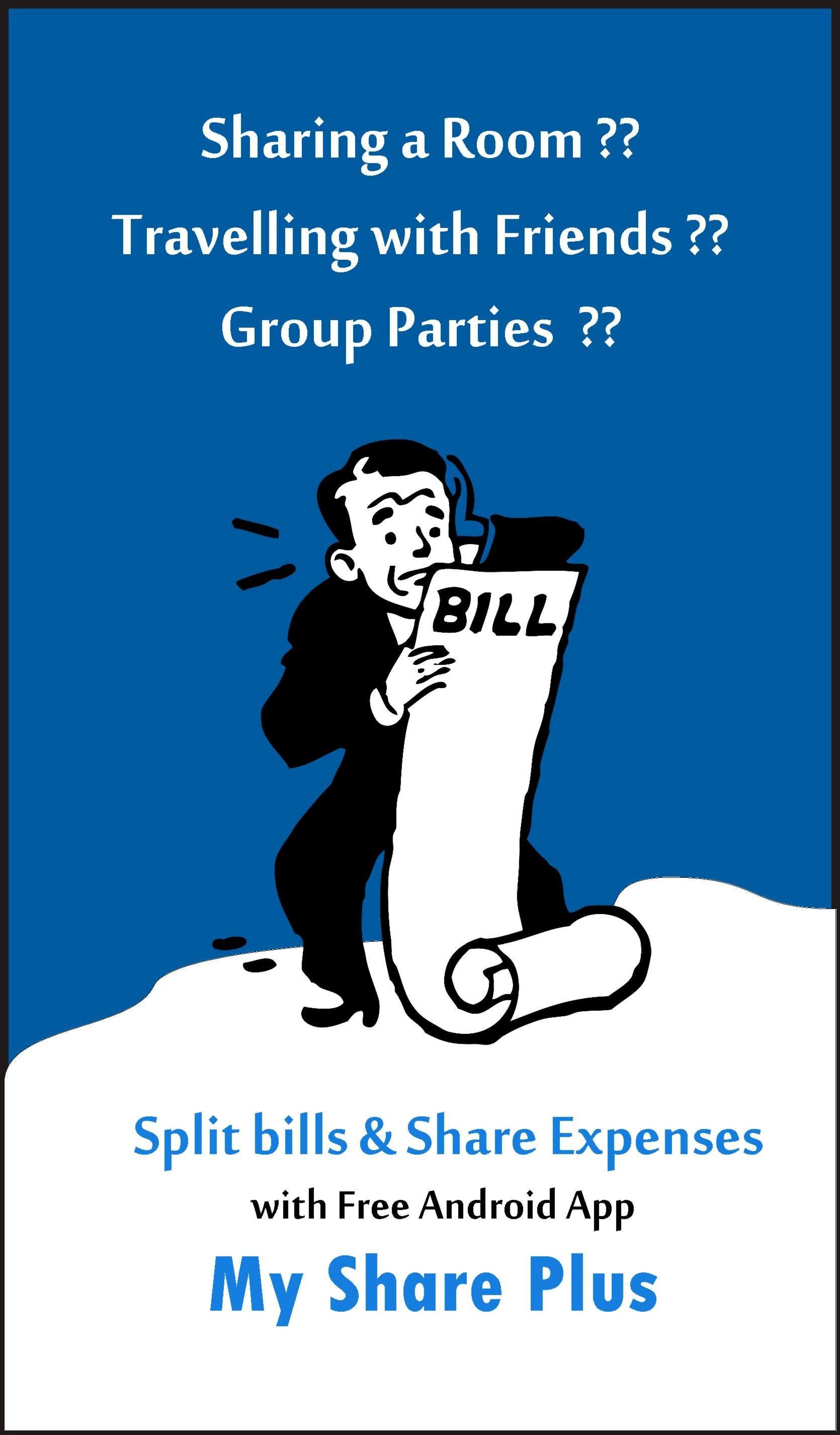 For Splitting Travel Bills | Share Expenses | Expense tracker, App