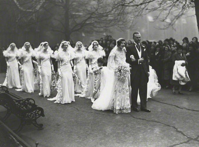 Drama. The Wedding Of Nancy Beaton And Sir Hugh Houston