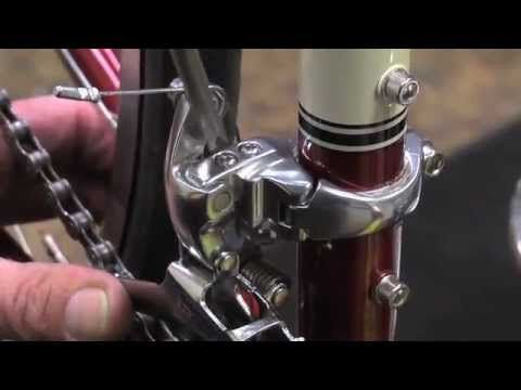How To Adjust A Front Derailleur Road Bike Diy Bike Repair Bike Repair Biking Diy Bike