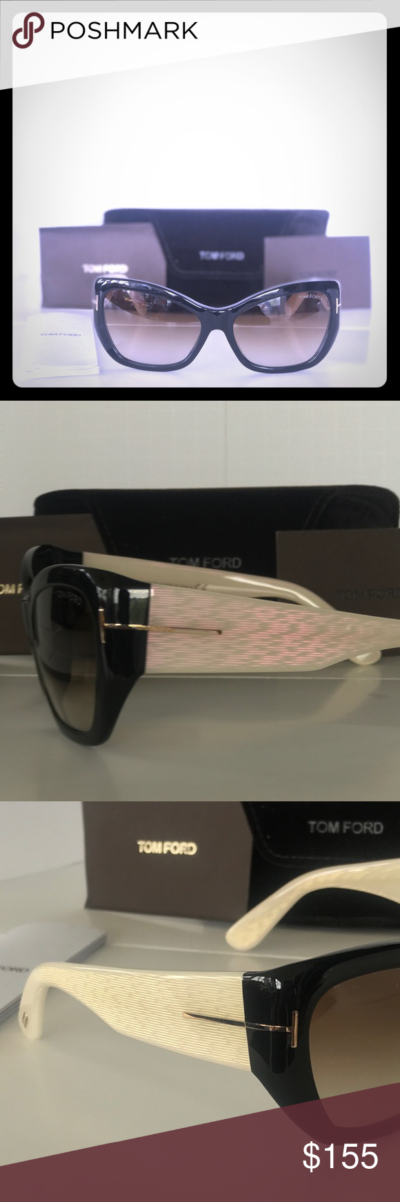 49759161d7f Tom Ford Corrine Sunglasses Utter sophistication radiates from these  designer Trendy and classic