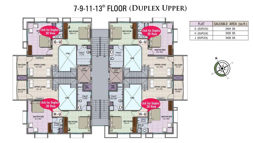Duplex apartment floor plans best home design 2018 for 5 bhk duplex floor plan