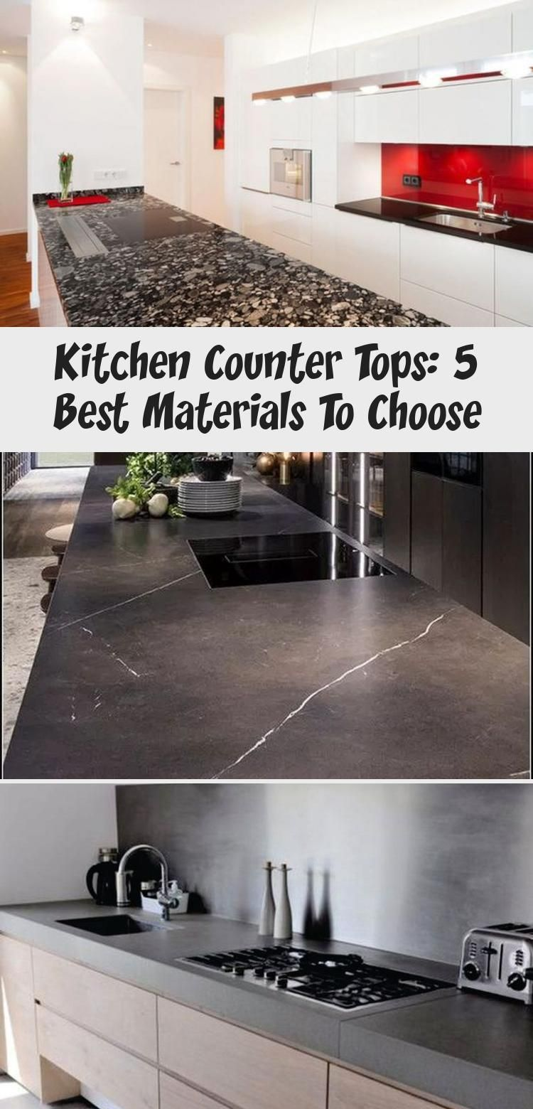 Kitchen Counter Tops 5 Best Materials To Choose Decor Dizayn
