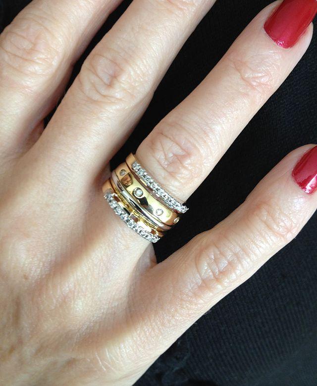 Aparador de alianças  um resgate da moda   I WANT   Rings, Jewelry ... 45085ee981