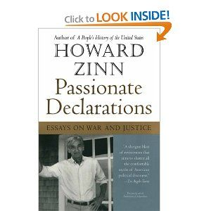 Passionate Declaration On War And Justice By Howard Zinn Essay Essays