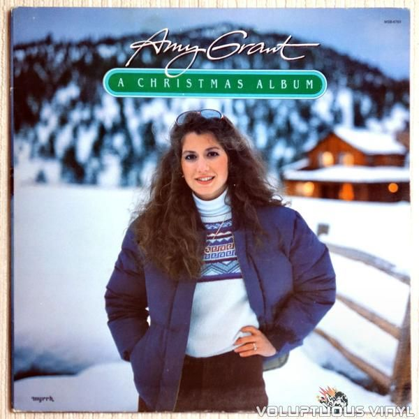 Amy Grant New Christmas Album.Amy Grant A Christmas Album 1983 1985 Season