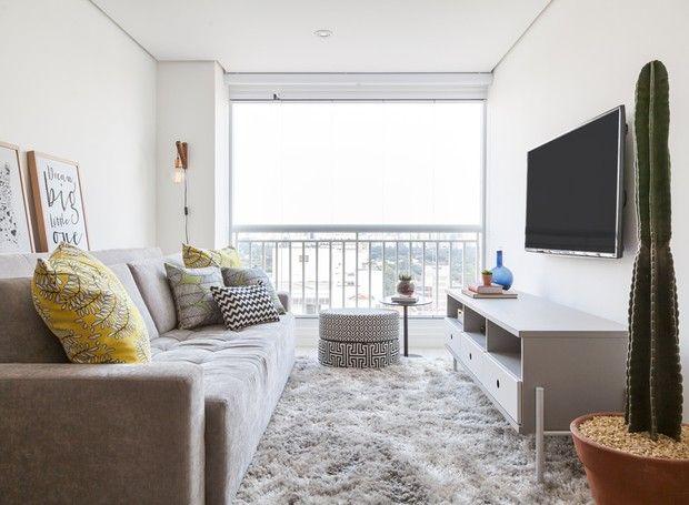 Apartamento Pequeno Ganha Reforma Rapida E Decoracao Colorida