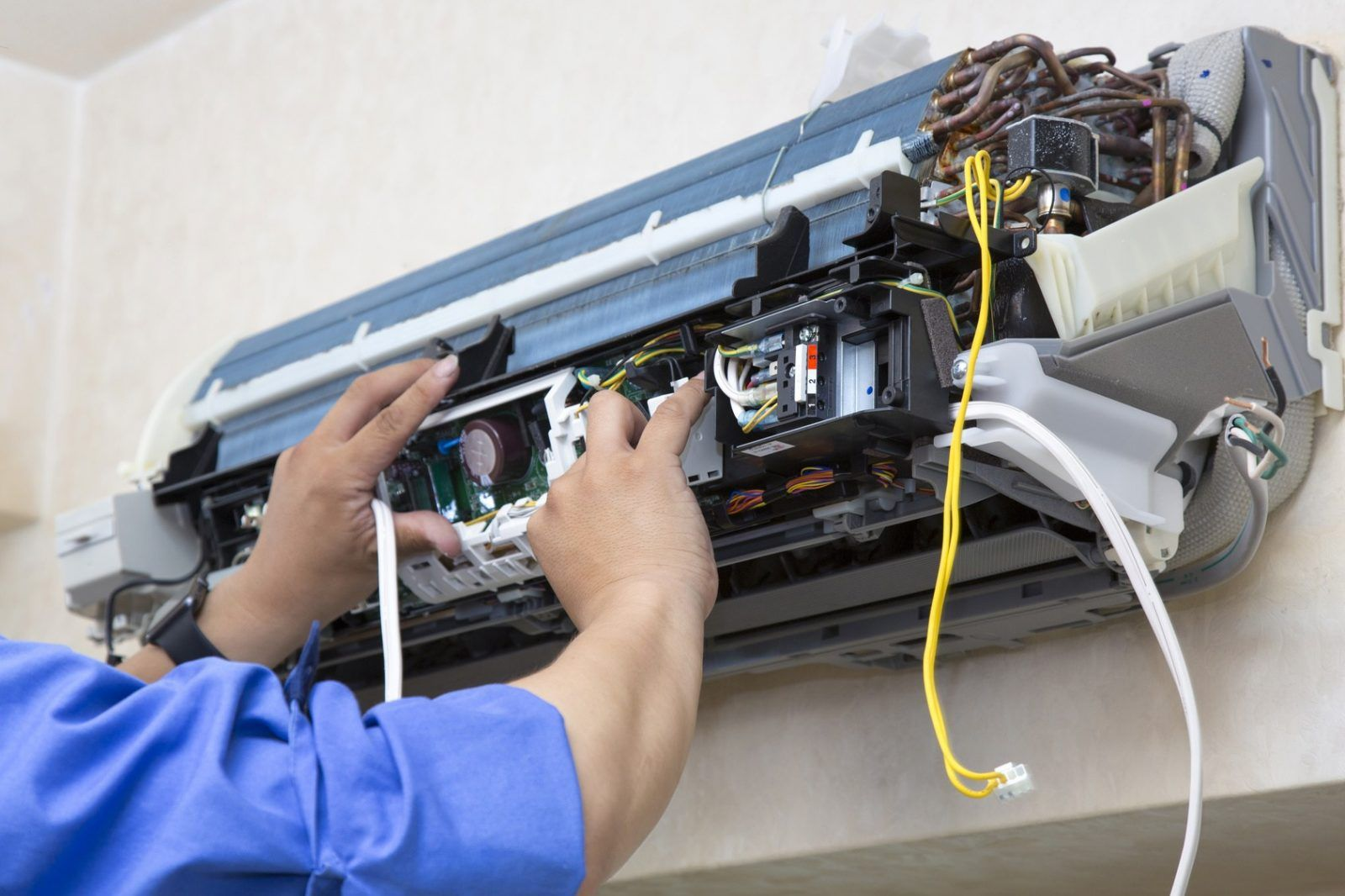 Air conditioners are appliances which need to be handled