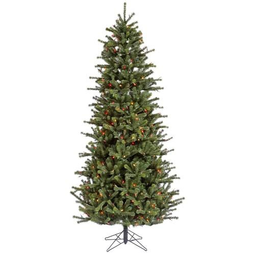 4.5' Pre-lit Carver Slim Artificial Christmas Tree - Dura-Lit Multi Color - 4.5' Pre-lit Carver Slim Artificial Christmas Tree - Dura-Lit Multi