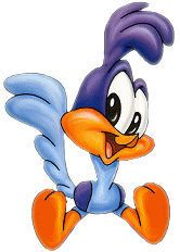 Baby looney tunes roadrunner