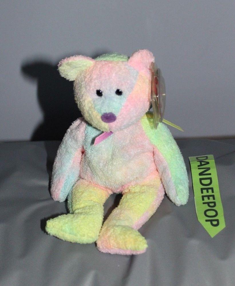 fd3042f15a9 TY Retired Beanie Baby Groovy Bear 8