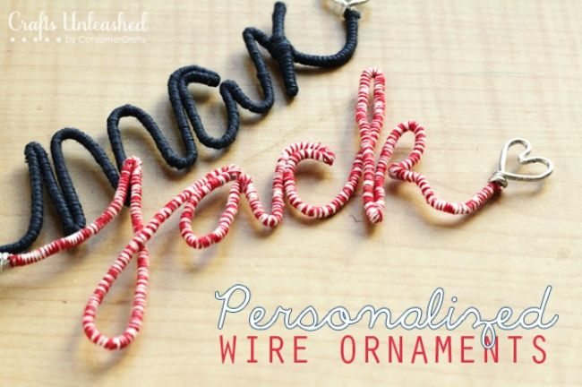 21 Handmade Christmas Ornaments