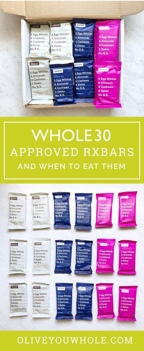 Whole30 Approved RXBars images
