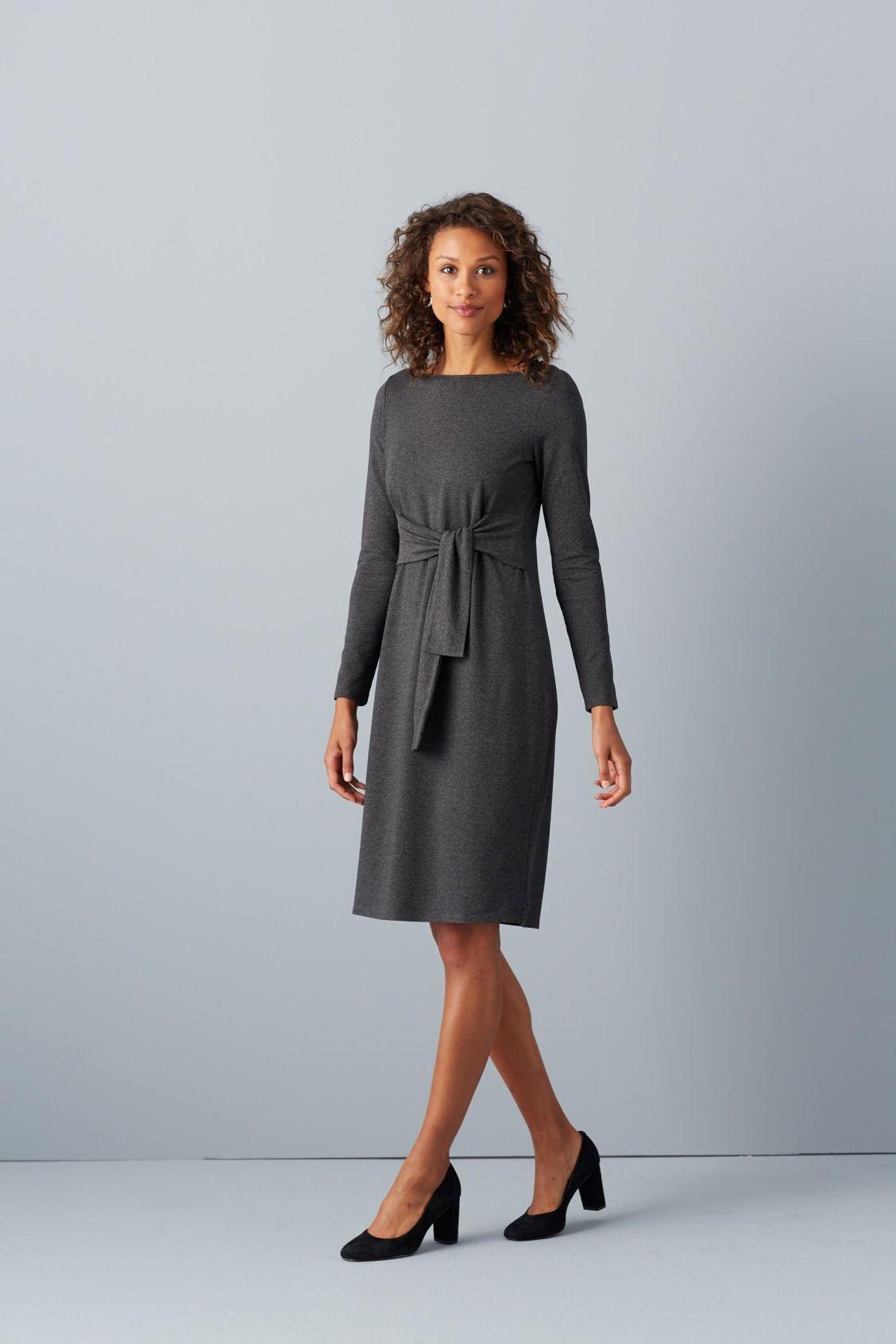 J.Jill Wearever tie-front dress | Wear to
