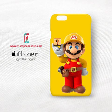 Super mario maker  iPhone 6 6S Cover Case