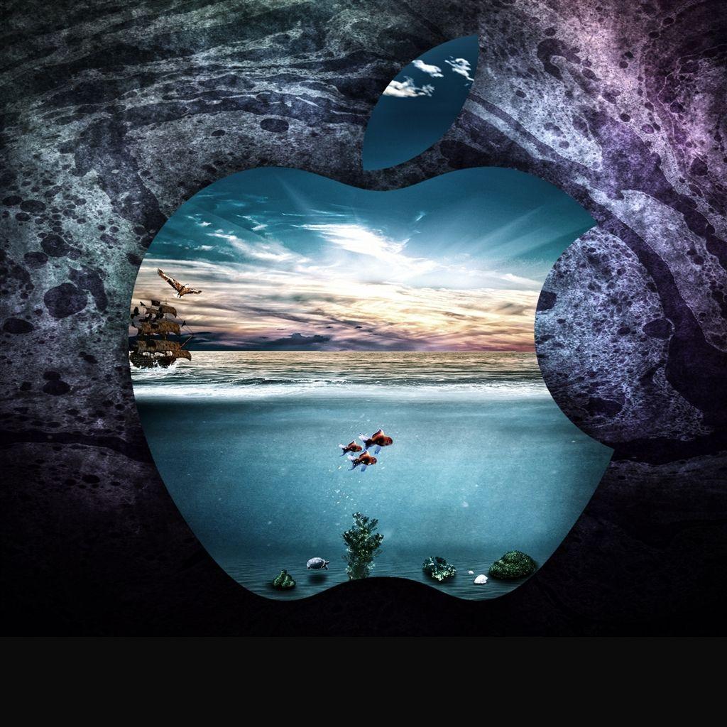 Apple under water iPad Air Wallpapers Macbook air