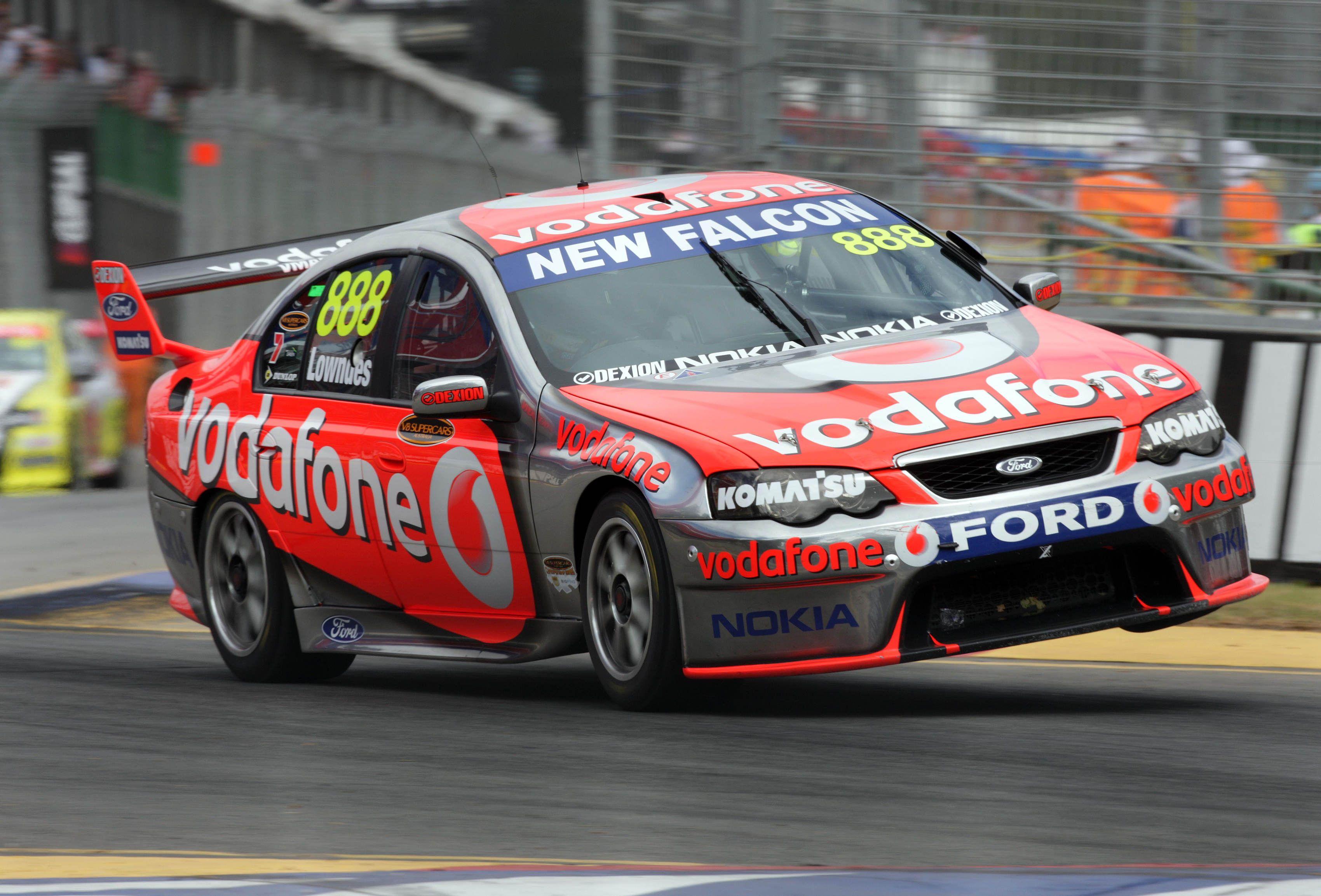 Craig Lowndes 2008 Ba Supercar Ford Falcon Australia Super Cars V8 Supercars Australia