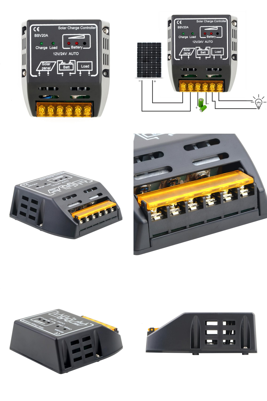 Visit To Buy New Arrival 20a 12v 24v Solar Panel Charge Controller Battery Regulator Safe Protection Solar Controllers Adve Solar Panels Electrical Equipment