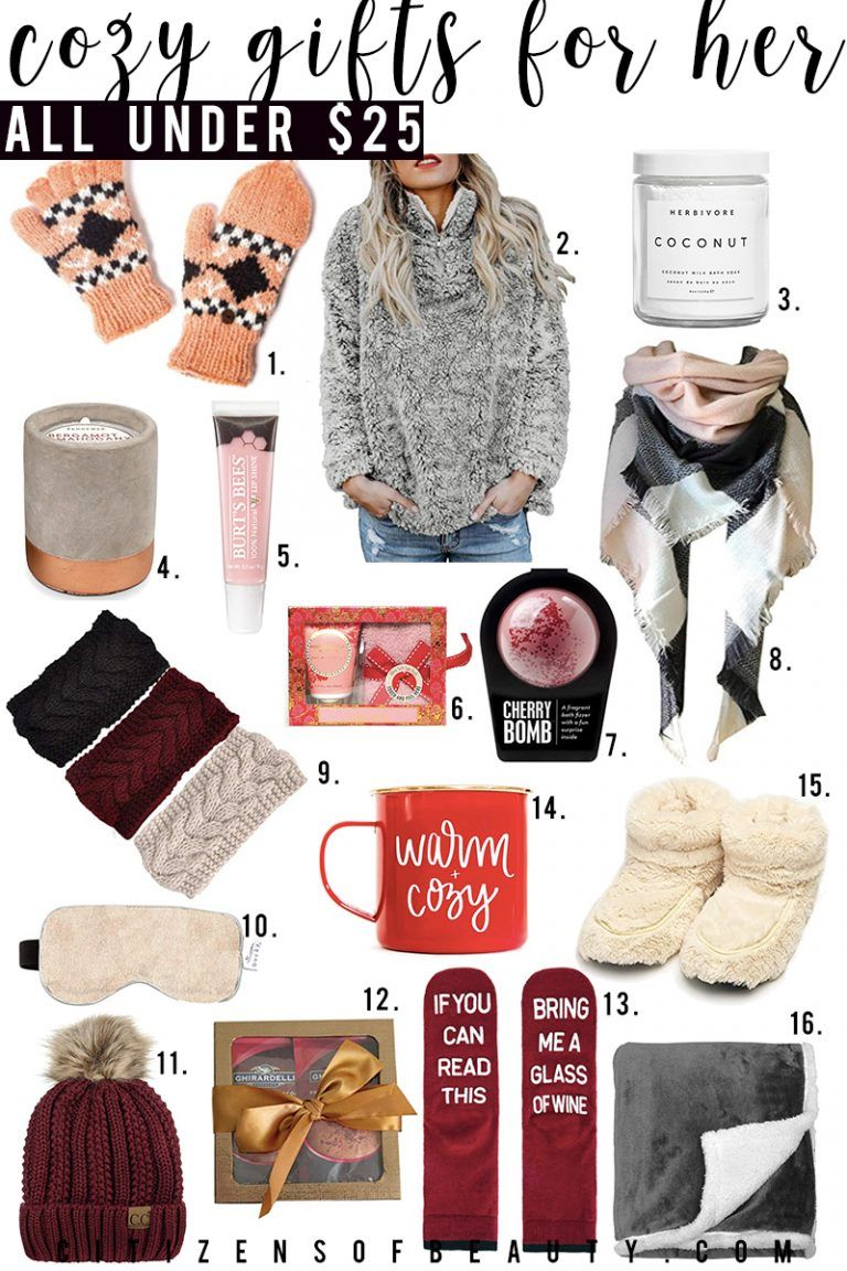 Holiday Gifts for Her Under 25 Trending christmas gifts