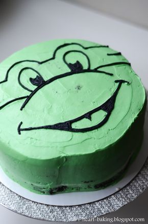 I Heart Baking Teenage Mutant Ninja Turtle Cake Ninja Turtle Birthday Cake Tmnt Cake Turtle Cake