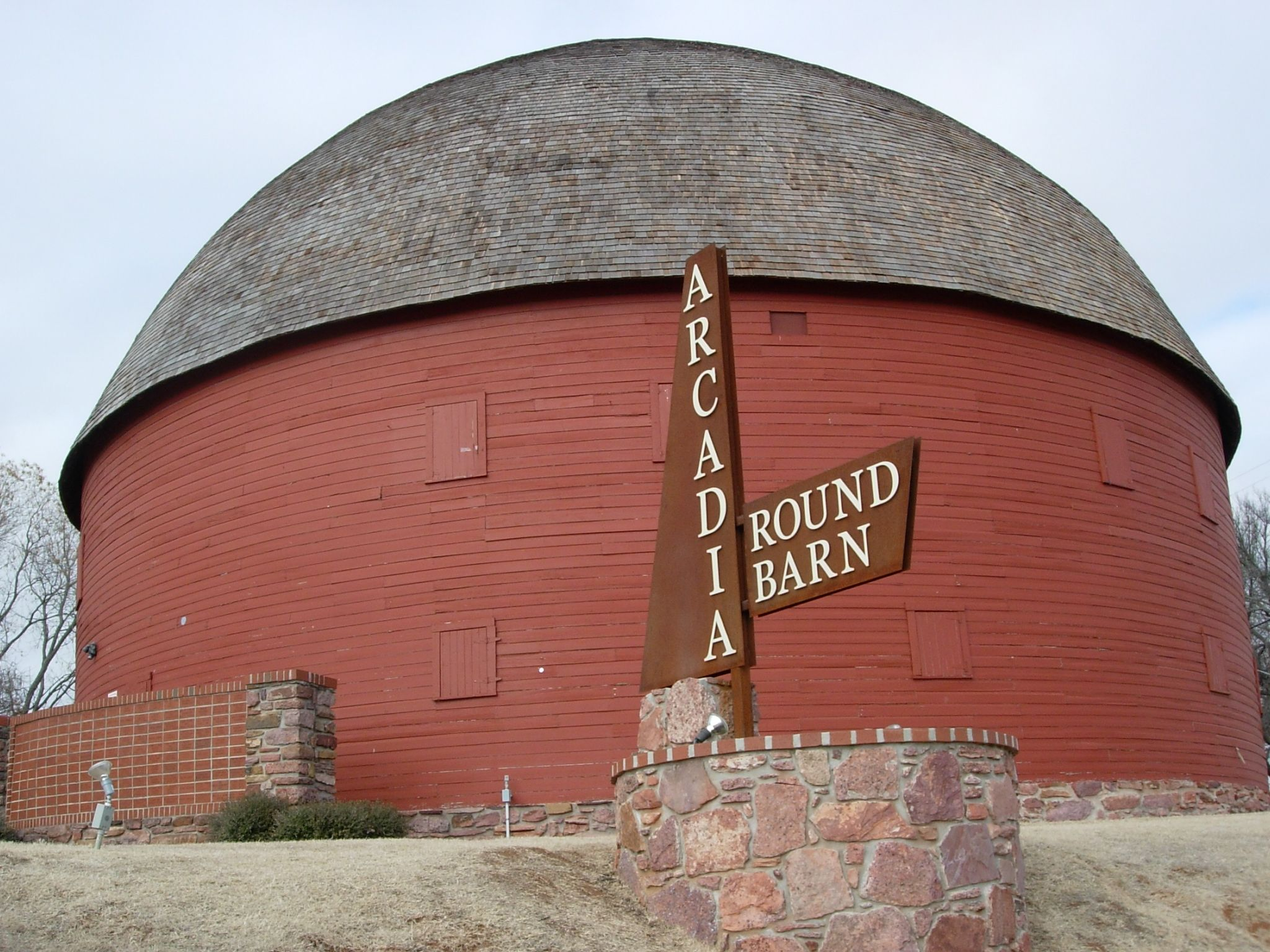 The Arcadia Round Barn - Google Search | Barn, Old barns ...