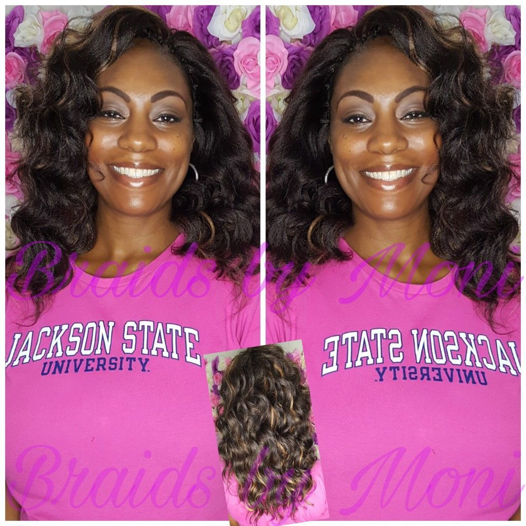 Ocean wave crochet braids black girl hairstyles pinterest