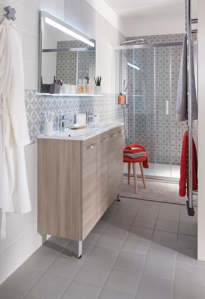 creamix, le meuble qui s'adapte à toutes les salles de bains ... - Salle De Bain Gain De Place