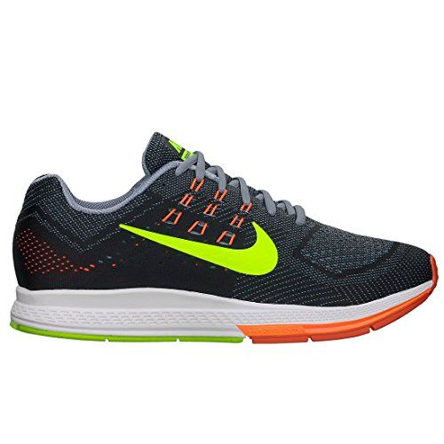 The Nike Air Zoom Structure 18 (Extra-Wide) Men`s Running Shoe improves upon its predecessor with three foam layers for incredible support and a smooth ride. Dynamic Fit technology uses Flywire cables to wrap the arch and secure the midfoot while a forefoot Nike Zoom unit delivers low-profile impact protection. GUIDE TO CHOOSE THE RIGHT SHOE SIZE:Mens shoes come in narrow, medium and wide. C or N - NarrowD or M - Medium (normal)E or W - WideWomens shoes come in narrow, medium, wide and…