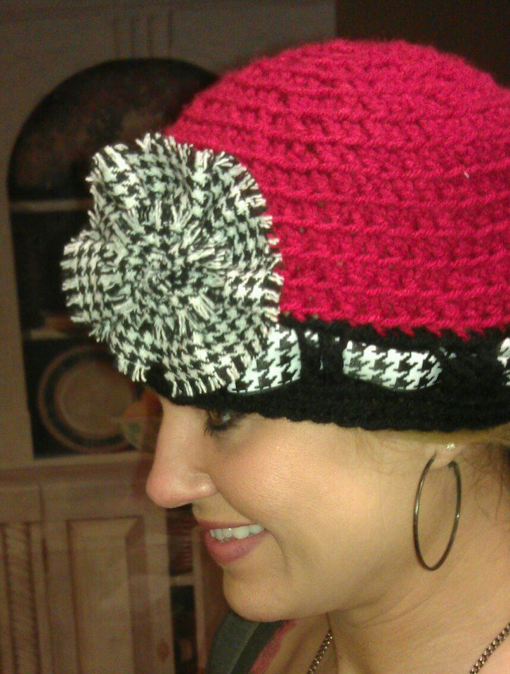 Roll tide cute i could also do this with a cheap hat