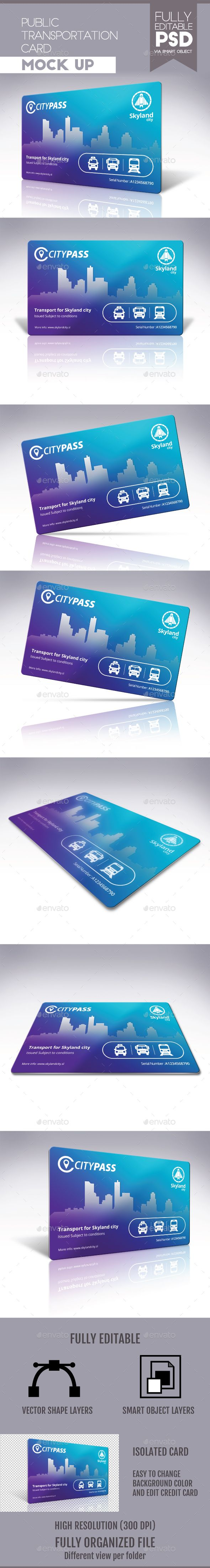 Print Mockup - Public Transportation Card - Print Mockup by doghead.   #TuesdayMotivation #UserInterface #UIUX #TuesdayThoughts #TuesdayWisdom #BlackFriday #PresentationTemplate#TuesdayFeeling #WebElements #CyberMonday #HappyTuesday #Logo #Graphic #Vectors #DesignTemplate