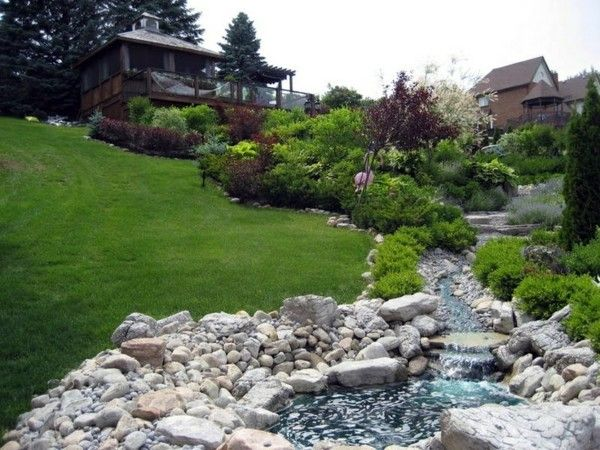 Garden Ideas On A Slope landscaping on a slope - how to make a beautiful hillside garden