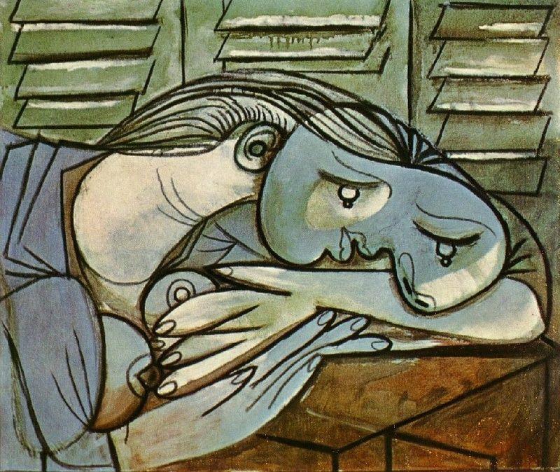 1936 Dormeuse aux persiennes 1 picasso