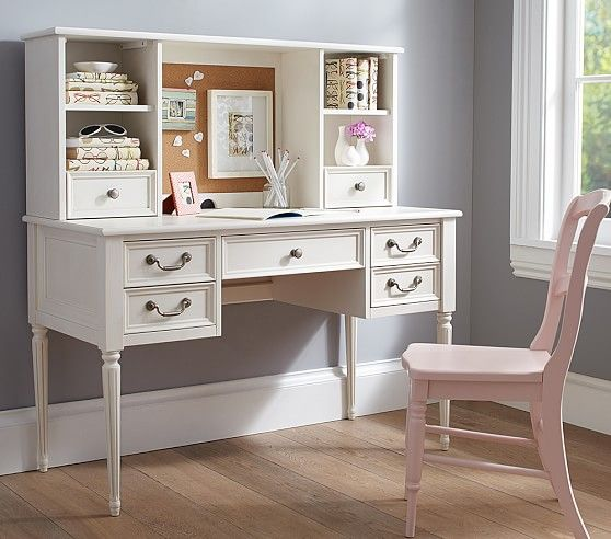 Blythe Desk Tall Hutch Pottery Barn Kids Nursery Kids Young