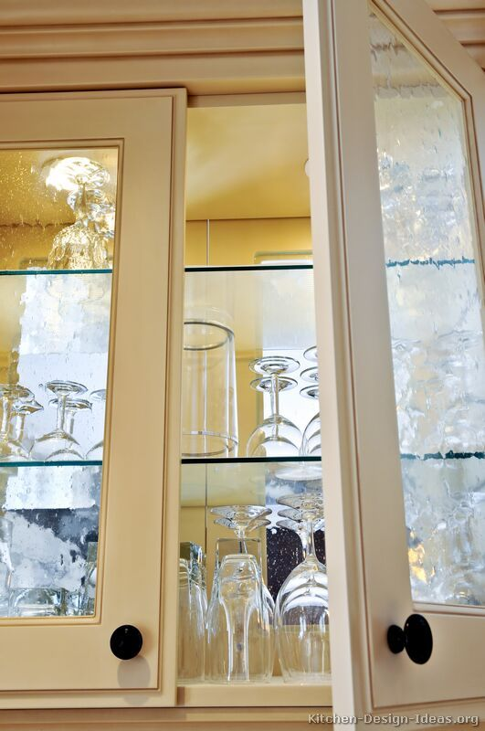 Beautiful Glass Cabinets Traditional Antique White Kitchen Cabinets 24 Kitchen Design Ide Glass Cabinet Doors Glass Shelves Kitchen Antique White Kitchen
