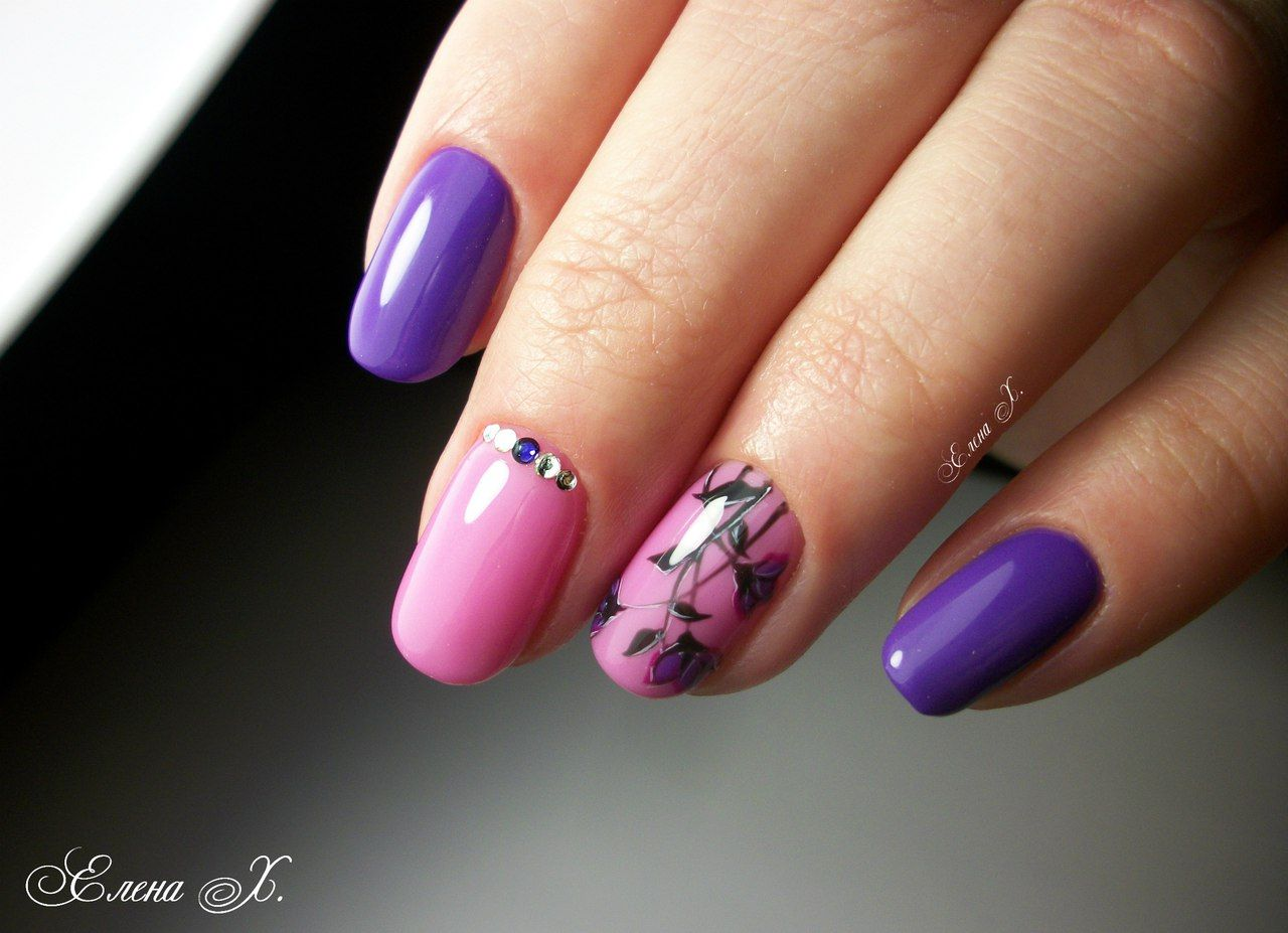 Nail Art #3574 - Best Nail Art Designs Gallery | Pinterest | Bright ...