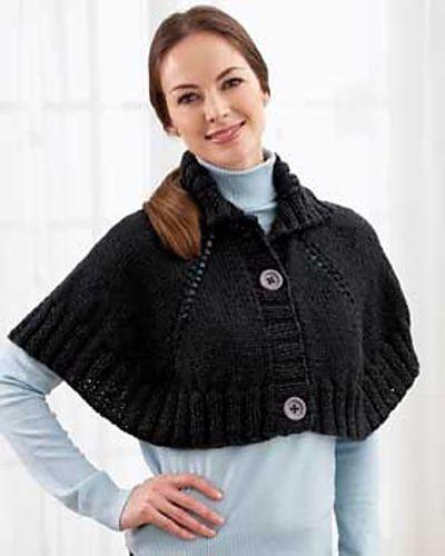 produits de commodité Super remise moderne et élégant à la mode comment tricoter une pelerine | Capas y ponchos tejidos ...