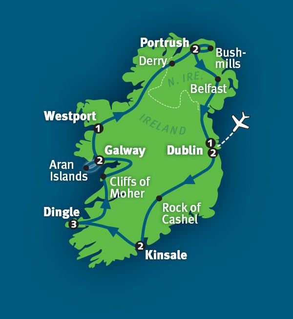 Ireland Tour The Best Of Ireland In Days Rick Steves - Ireland vacation packages 2015