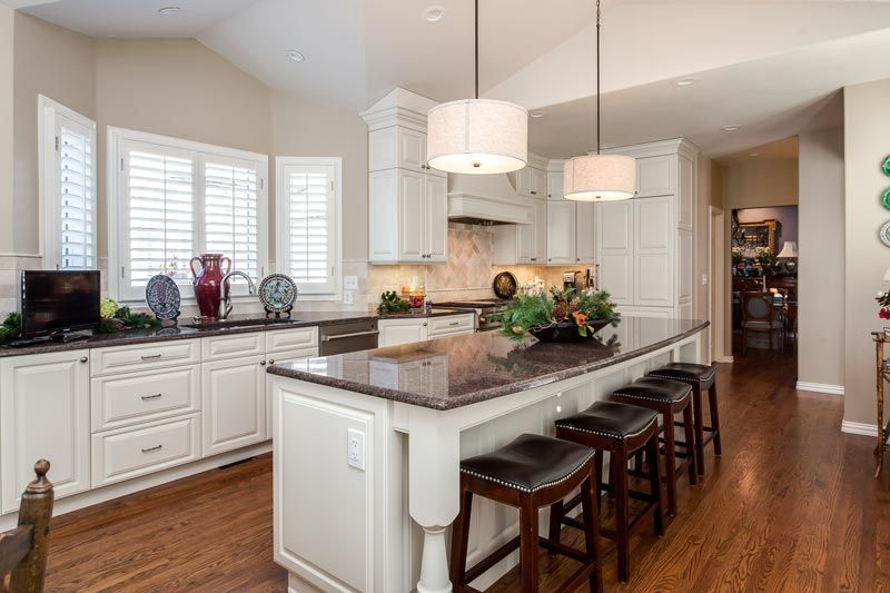 White Traditional Kitchen Remodel Greenwood Village Colorado Captivating Remodeling Kitchen Design Inspiration