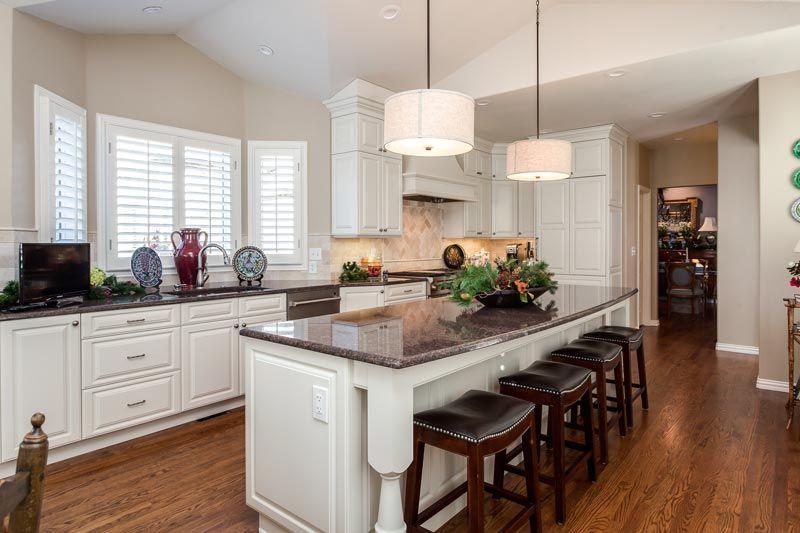 White Traditional Kitchen Remodel Greenwood Village Colorado Captivating Remodeling Kitchen Design Inspiration