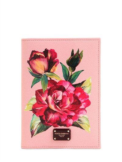 Détenteur D'un Passeport Floral Rose Dolce & Gabbana dgdXoNpQ