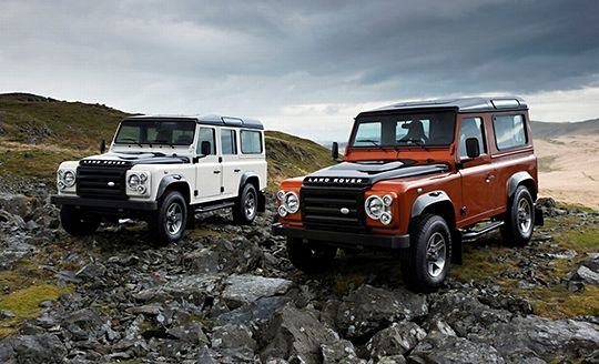 Land Rover Defender Fire Ice Editions Wallpapers