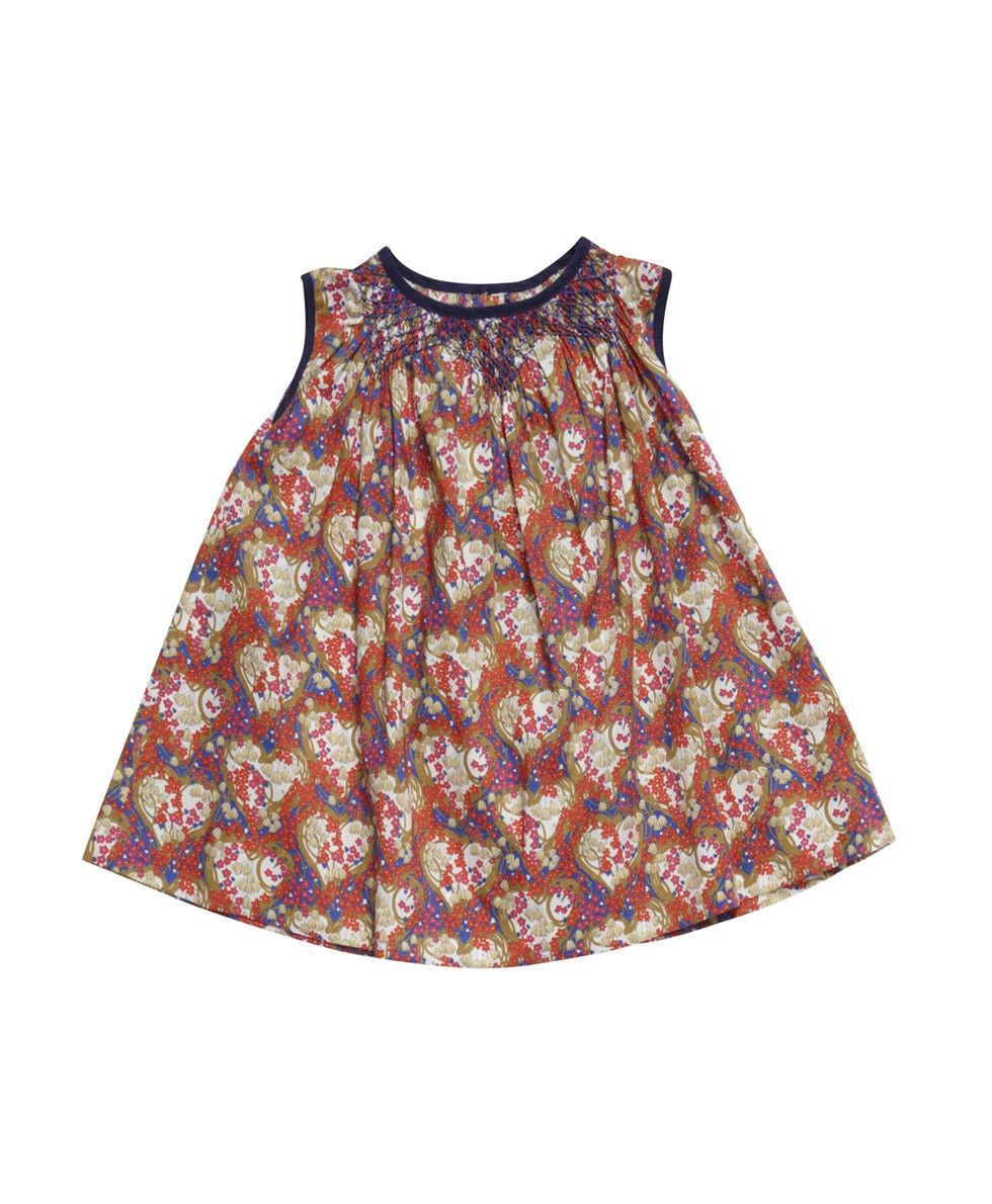 Yarm Baby Dress, Amy Jane Liberty Print