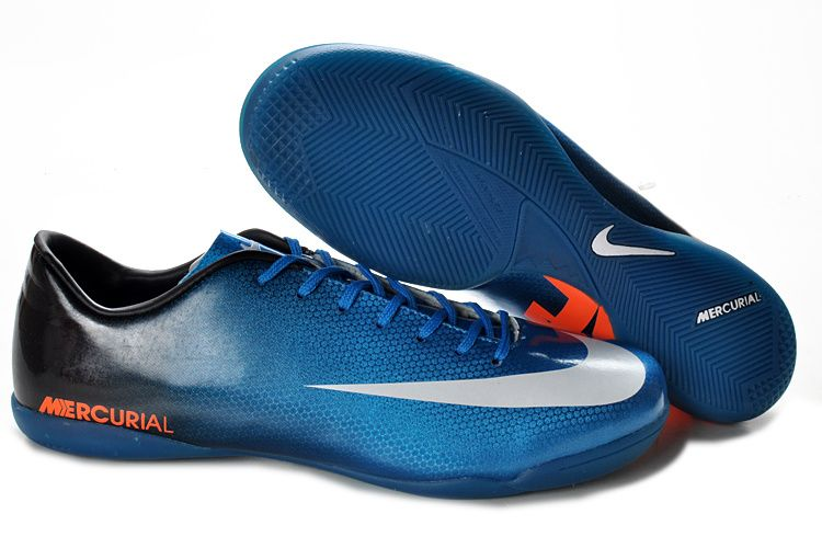132befa7934a Nike Mercurial Vapor IX IC Indoor Soccer Shoes Blue Sapphire Black White