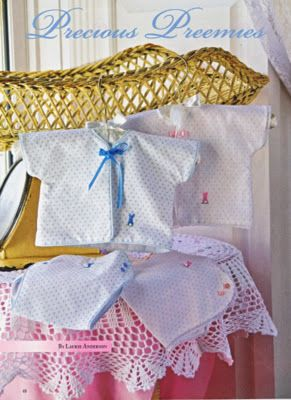 1992d4d80 Precious Preemies ePattern - FREE - Laurie Anderson's pdf pattern - for Wee  Care gowns