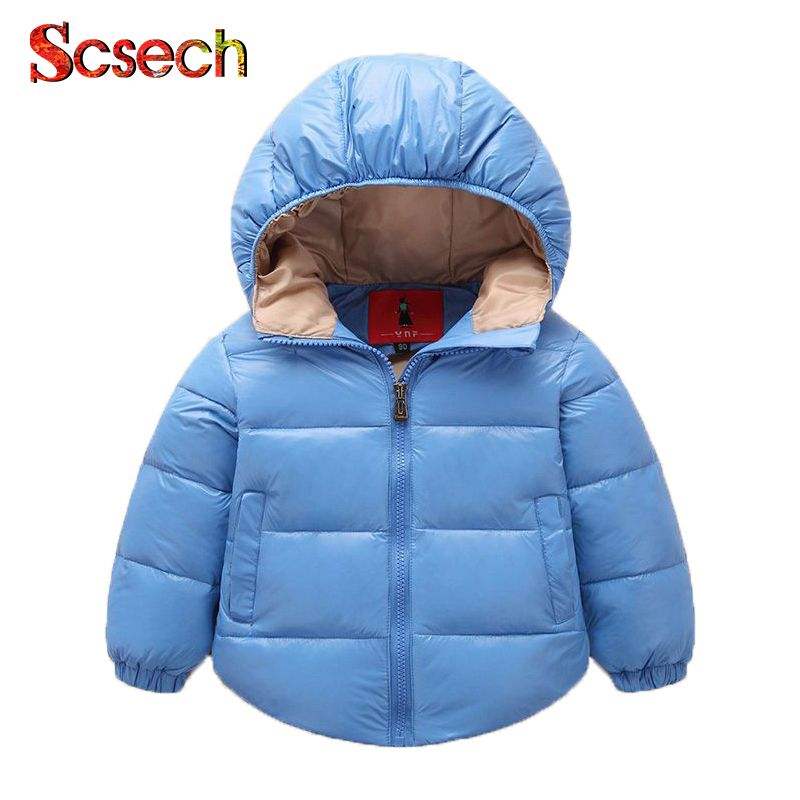 6e47c5f00fe0 High Quality Autumn Winter Baby Girls Boys Jacket New Brand Long ...
