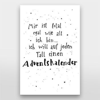 ich will einen adventskalender handlettering von gelbkariert ber spr che. Black Bedroom Furniture Sets. Home Design Ideas