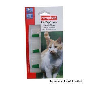 Beaphar Cat Spot On 12 Week Flea Repel X 6 Pet Meds Cats Fleas