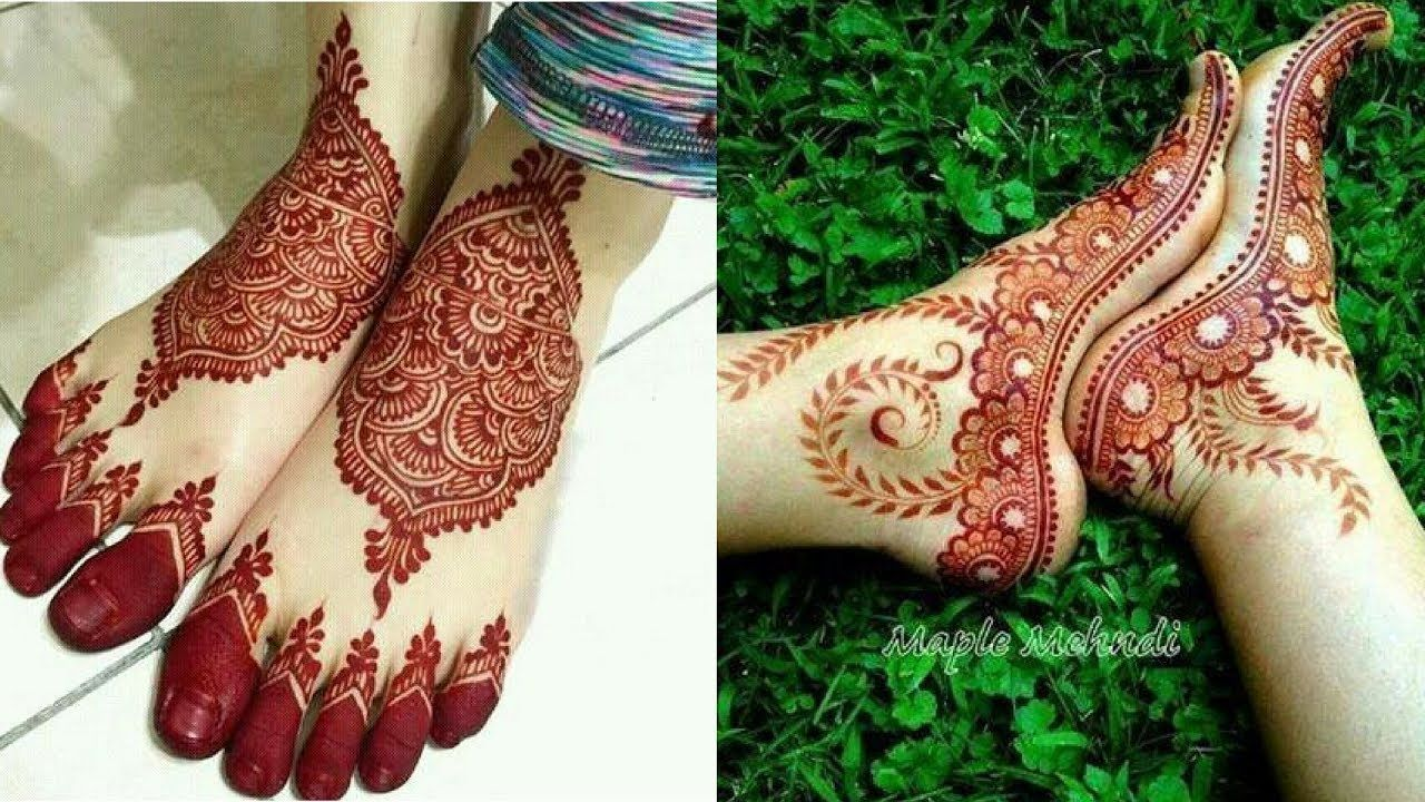 Mehndi Patterns For Legs : Trending henna designs for feet best mehendi beauty