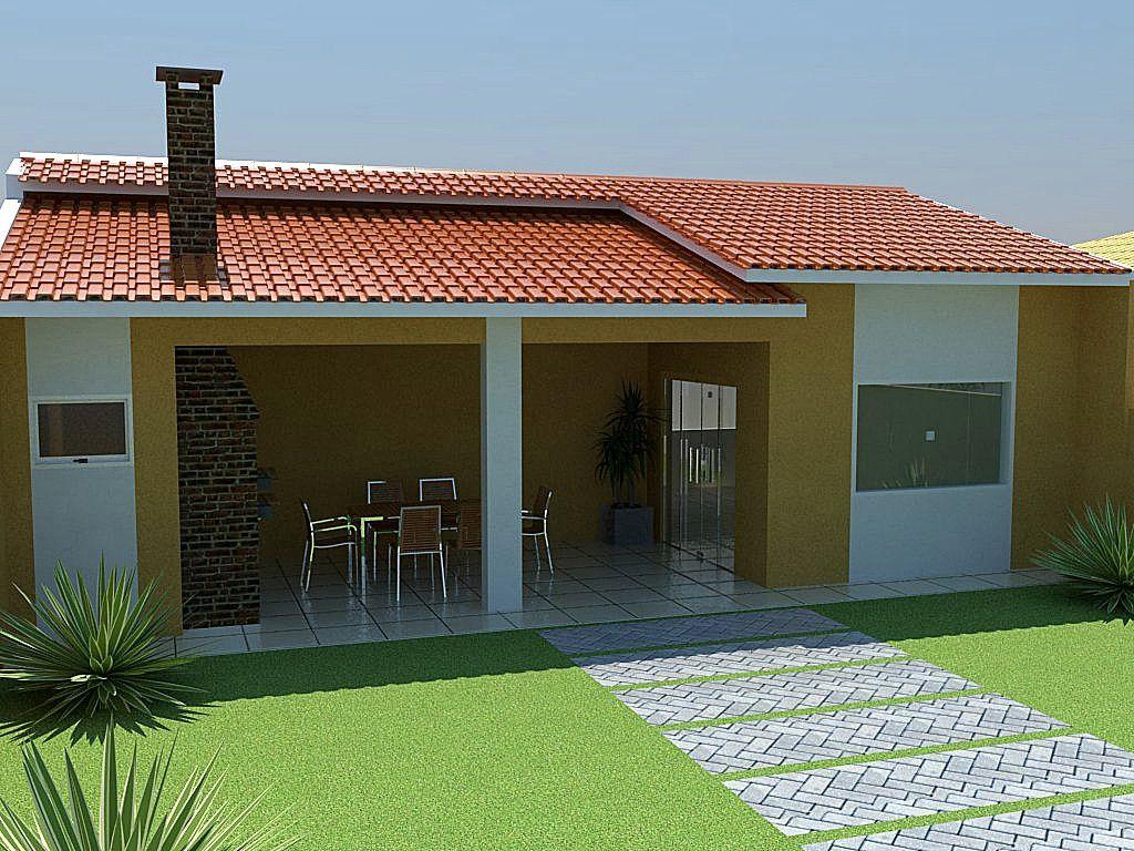10 fachadas para casas simples fachadas para casas for Modelos de techos metalicos para casas