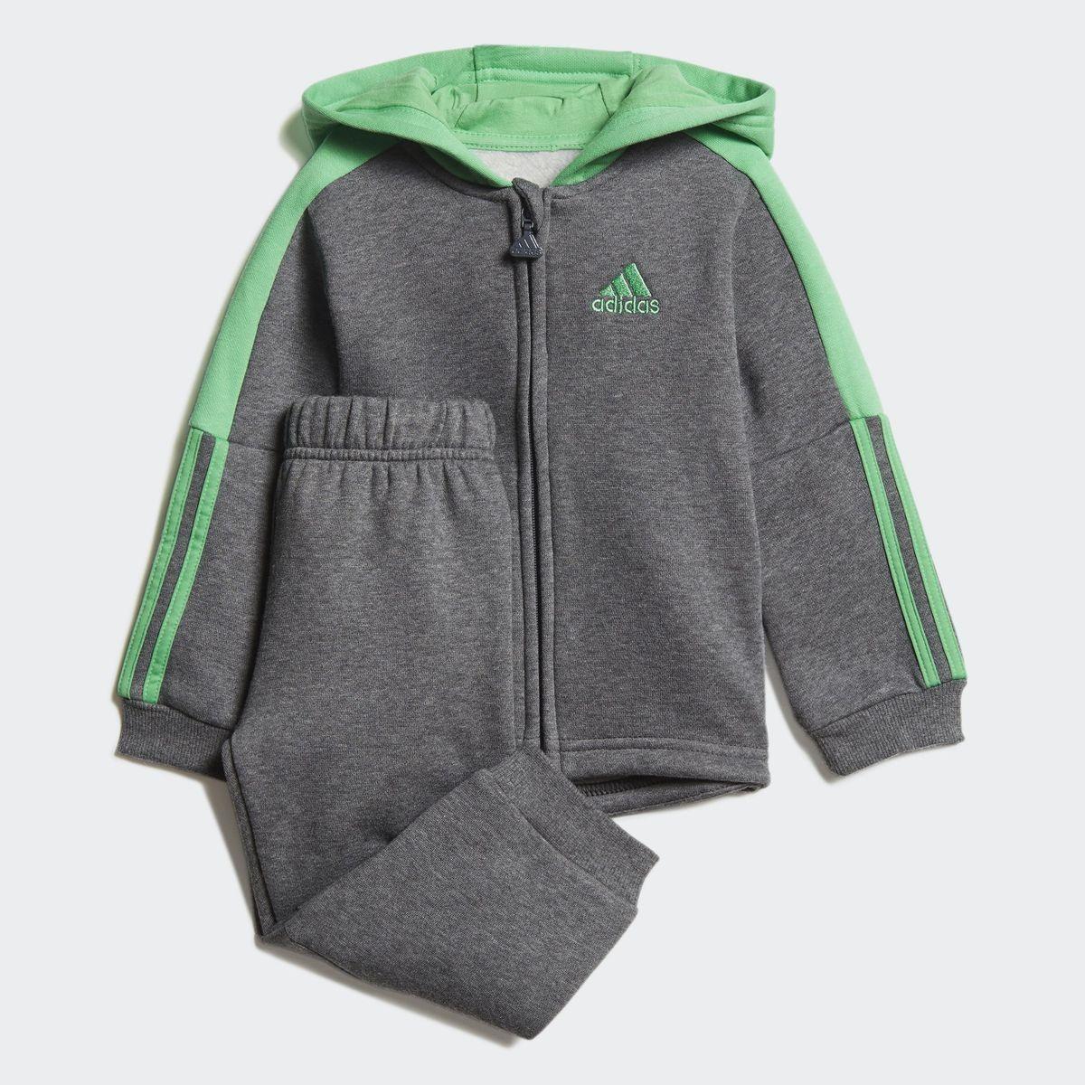 Ensemble bébés Logo Hooded Fleece | boys | Adidas, Jogging